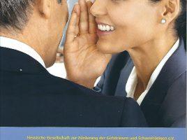 Titelblatt: Wege zur Teilhabe mit Hörbeeinträchtigung